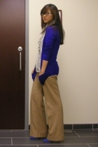 Theory sweater - JCrew blouse - J BrandCrew pants - Zara shoes