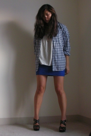 LaRok skirt - JCrew shirt - Michael Kors shoes - JCrew shirt
