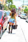 Leather-payless-boots-lace-yandy-stockings-cotton-salvation-army-top