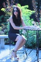 ami clubwear heels - H&M dress