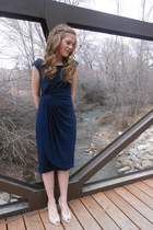 navy dress barn dress - off white Forever young shoes