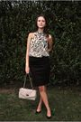 White-h-m-blouse-black-h-m-skirt-black-marco-tozzi-shoes-beige-new-look-ba