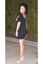black H&M dress - Guess shoes shoes - purse