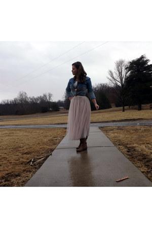 awwdore skirt - Forever 21 blazer