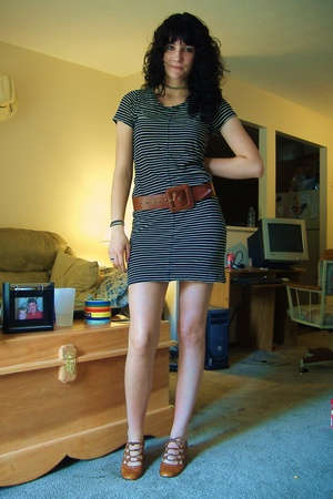 Ebay dress - forever 21 belt - Ebay shoes