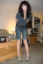 Urban Outfitters shirt - Aeropostale jeans - payless shoes