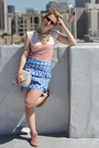 Sky-blue-leifsdottir-skirt-brick-red-lace-up-booties-dolce-vita-shoes
