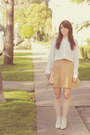 Tan-a-line-vintage-skirt-ivory-booties-rachel-comey-shoes
