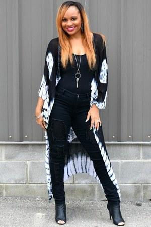 tye dye Trish M Fashions top
