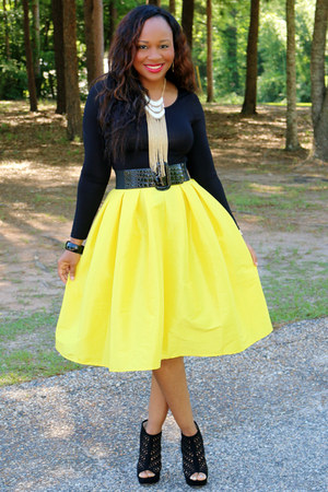 yellow yellow LaTreece Elegant Boutique skirt