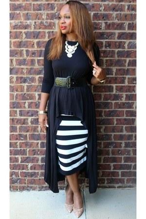 black black Trish M Fashions top