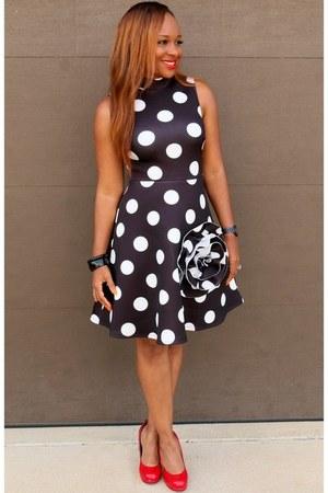 polka dots Trish M Fashions dress
