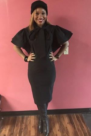black Trish M Fashions dress