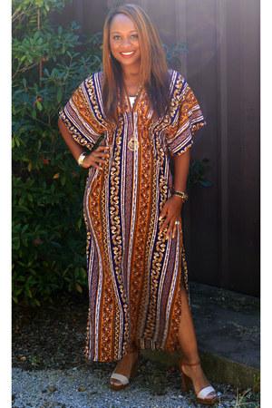 multi print Rue 21 dress