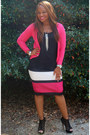 Hot-pink-jcpenney-skirt-black-black-aldo-heels