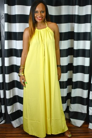 yellow Trish M dress
