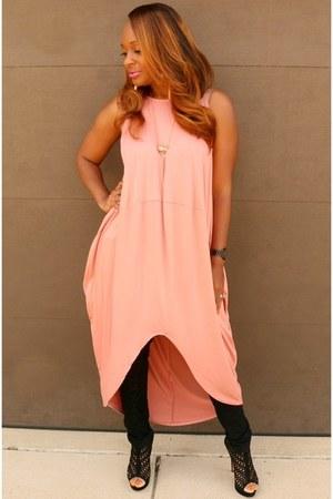 black black Trish M Fashions jeans - peach blush Trish M Fashions dress