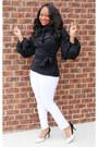 Black-sb-boutique-blouse-black-and-white-dsw-heels