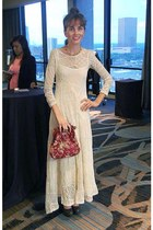 lace Gypsy Junkies dress - vintage purse - vintage intimate - Sole Society heels
