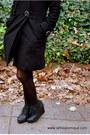Black-h-m-coat-black-sweater-gray-shorts-burnt-orange-american-apparel-sca