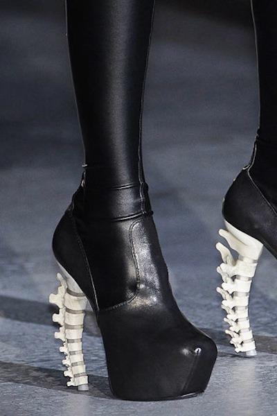 black DSquared shoes