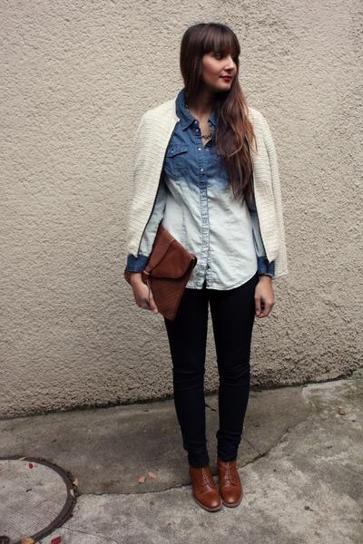 Vero Moda blouse - Zara jacket