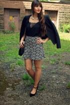 Promod jacket - Roland shoes - Promod skirt