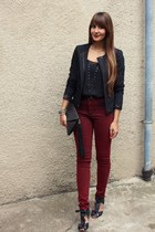 Promod jacket - asos pants - Pimkie top