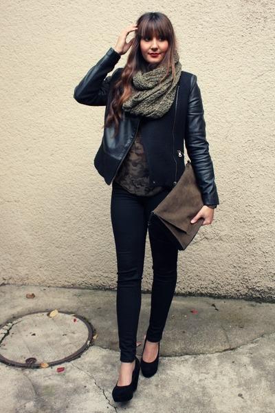 Zara Scarf Blouse 48