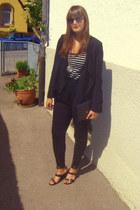 H&M blazer - Primark bag - Pimkie pants