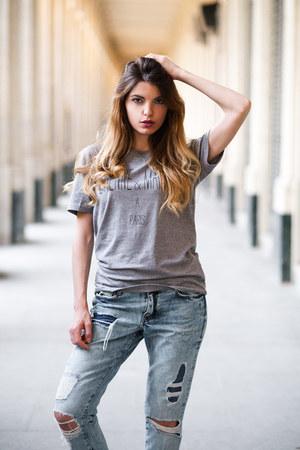 jeans H&M jeans - cotton Nous Sommes A Paris t-shirt