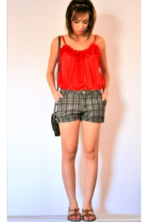 intimate - shorts - Topshop shoes