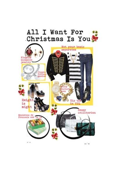 YSL shoes - Juicy Couture accessories - Tiffany accessories - Miu Miu shoes - Vi