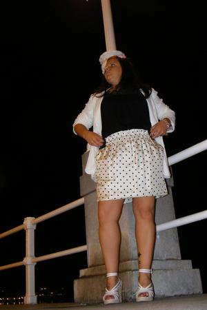 Zara jacket - BLANCO shoes - Zara skirt - BLANCO shirt
