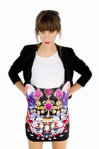 Madam Butterfly Pencil Skirt