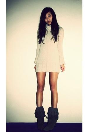 unknown brand brand dress - Zara boots