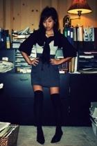 Nordstrom Rack shoes - Macys socks - Aerie top - American Apparel skirt - Nordst