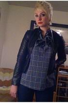Target jacket - blouse - salt jeans