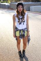 black Dolce Vita for Target boots - black H&M hat