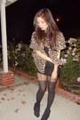 Black-forever-21-wedges-tan-leopard-random-blouse