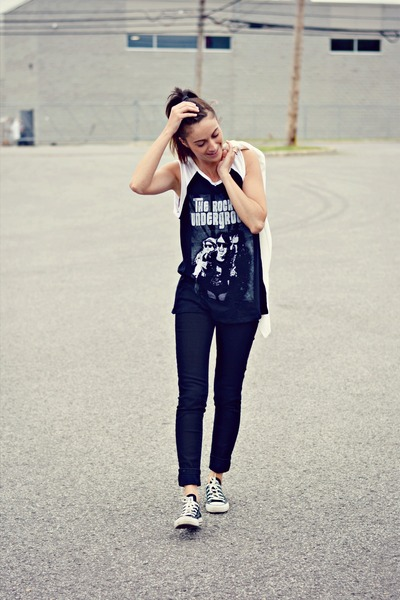 Jeans And Black Flats Black Skinny Levis Jeans