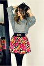 Black-le-chateau-jacket-gray-american-apparel-top-black-ardene-belt-pink-s