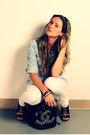 Blue-zara-shirt-white-sirens-jeans-black-aldo-shoes-black-ardene-purse
