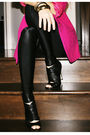 Pink-vintage-blazer-black-h-m-top-black-american-apparel-leggings-black-al