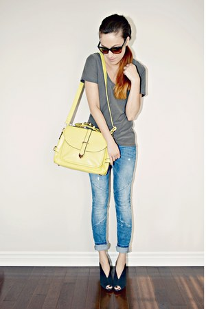 yellow Persunmallcom bag