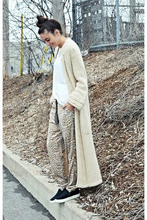 beige hm conscious H&M pants