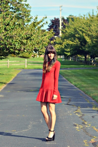 ruby red my own design dress