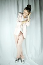 light pink vintage from Ebay blazer - light pink vintage from Ebay pants
