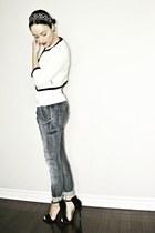 ivory H&M blazer