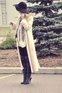 Cream-vintage-cardigan-cream-zara-shirt-black-american-apparel-leggings-bl